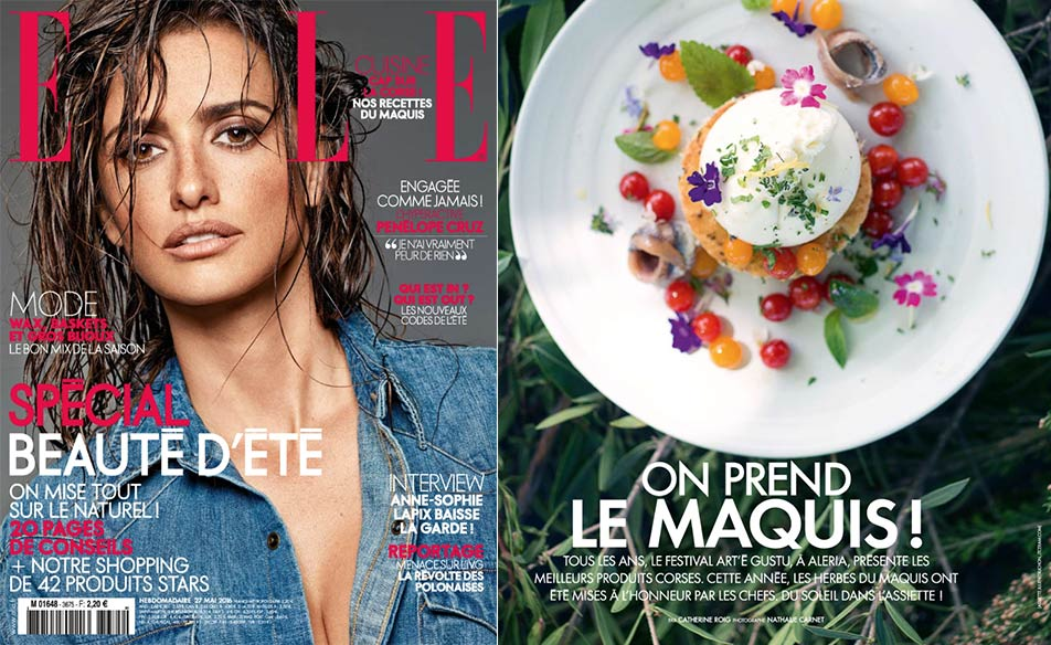 Atelier julien truchon assiette blanche satin dans le for Elle subscription change address